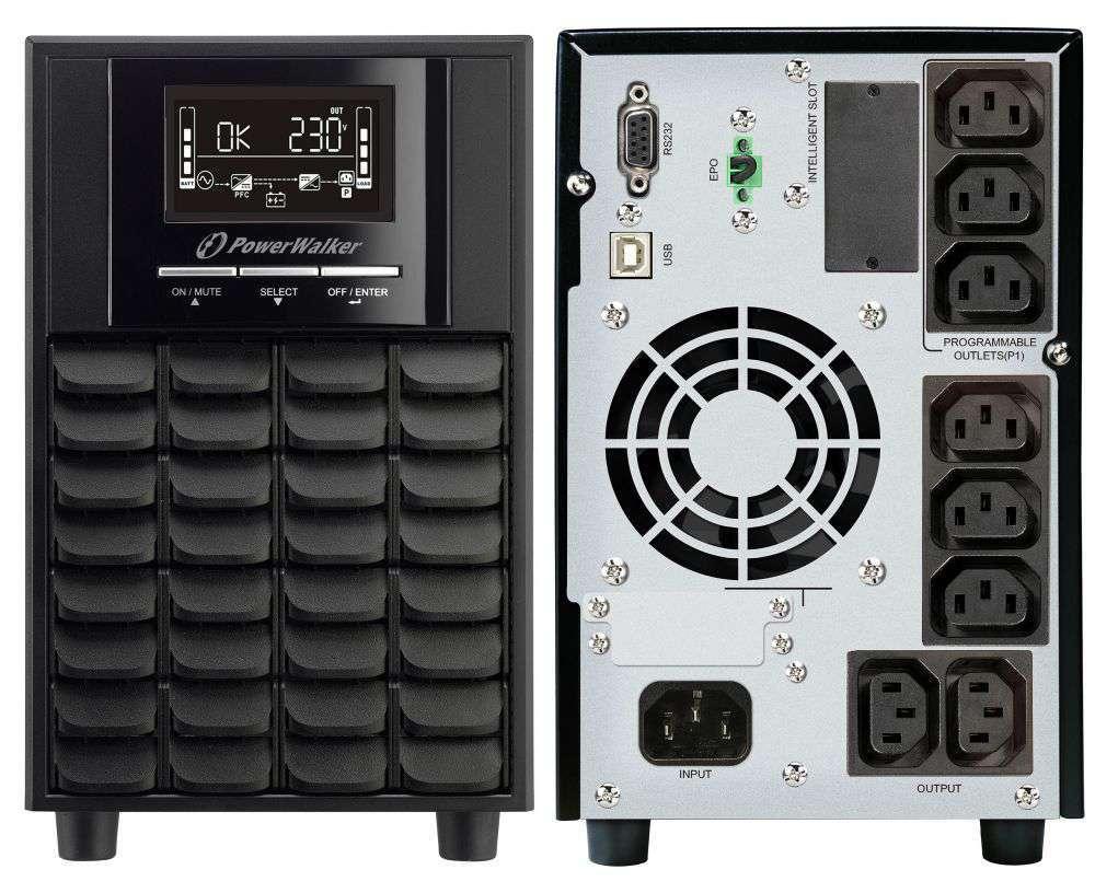Zasilacz UPS awaryjny 1500VA/1050W VI 1500 CW IEC PowerWalker