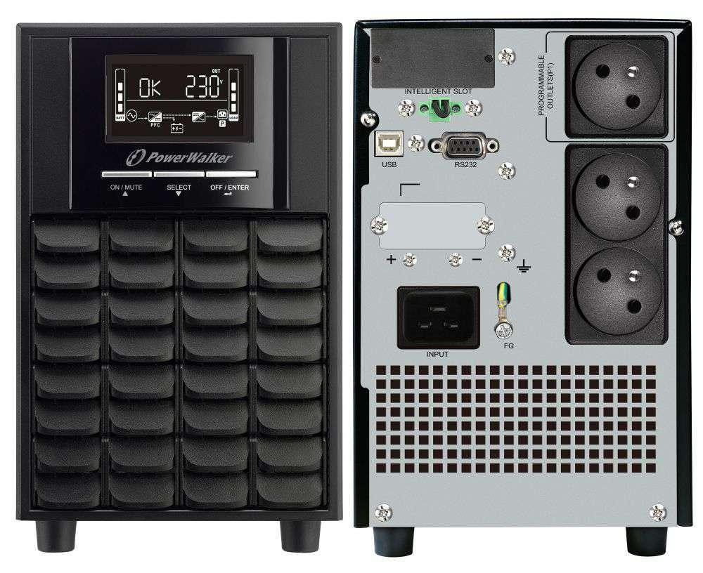 Zasilacz UPS awaryjny 3000VA/2100W VI 3000 CW FR PowerWalker