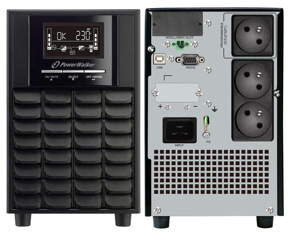 Zasilacz UPS awaryjny 2000VA/1400W VI 2000 CW FR PowerWalker