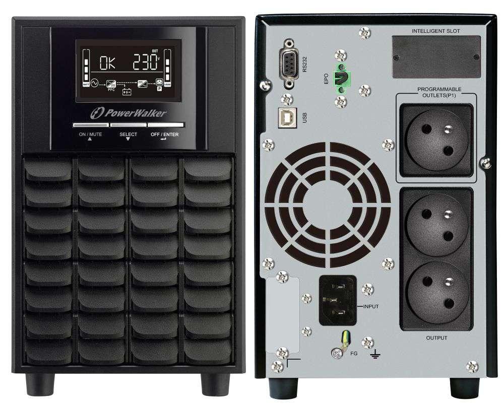 Zasilacz UPS awaryjny 1500VA/1050W VI 1500 CW FR PowerWalker