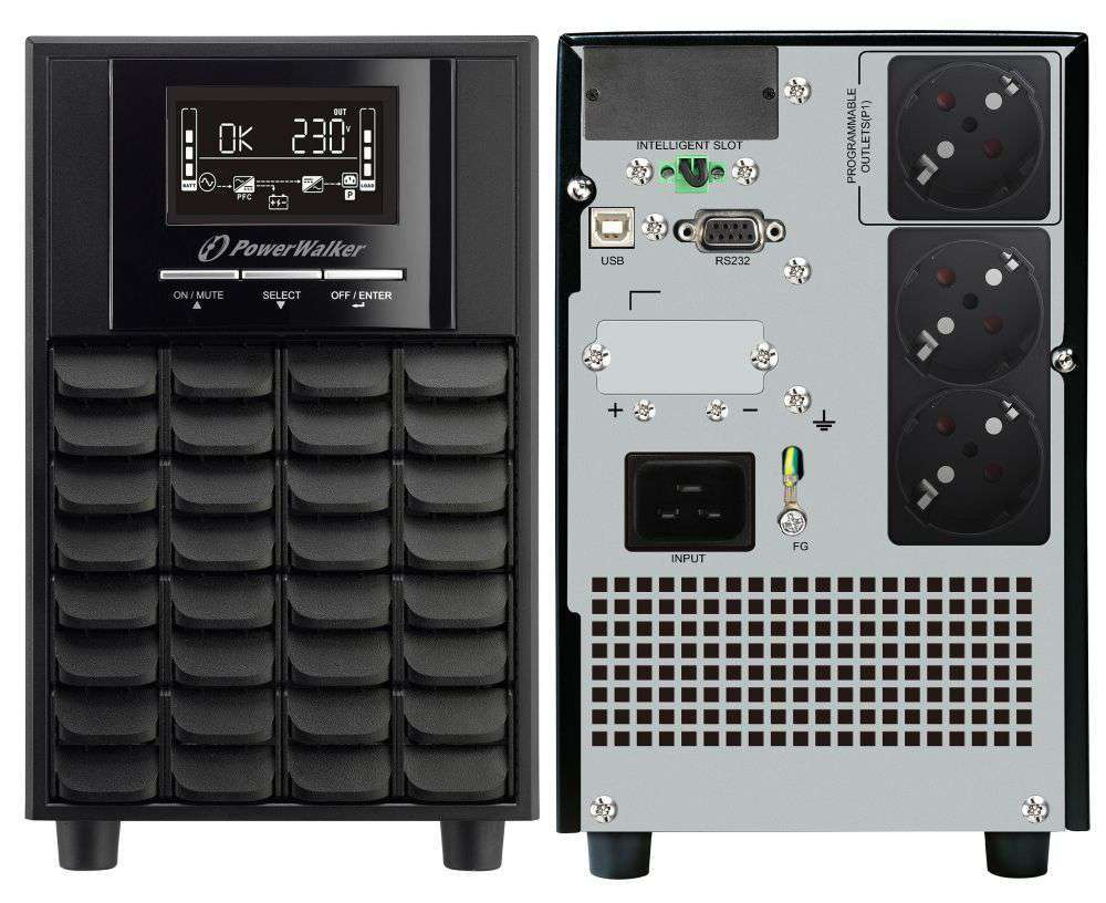Zasilacz UPS awaryjny 2000VA/1400W VI 2000 CW PowerWalker