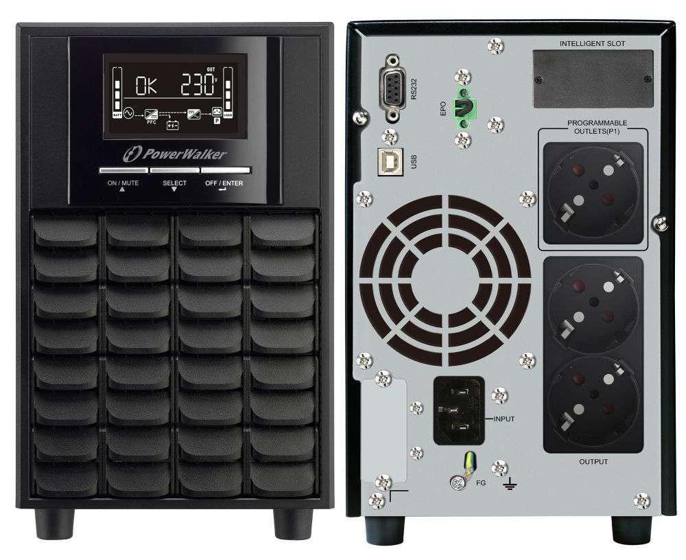 Zasilacz UPS awaryjny 1500VA/1050W VI 1500 CW PowerWalker