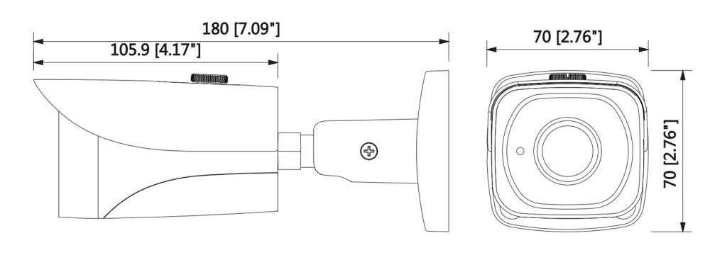 DH-IPC-HFW4831E-SE-0280B wymiary
