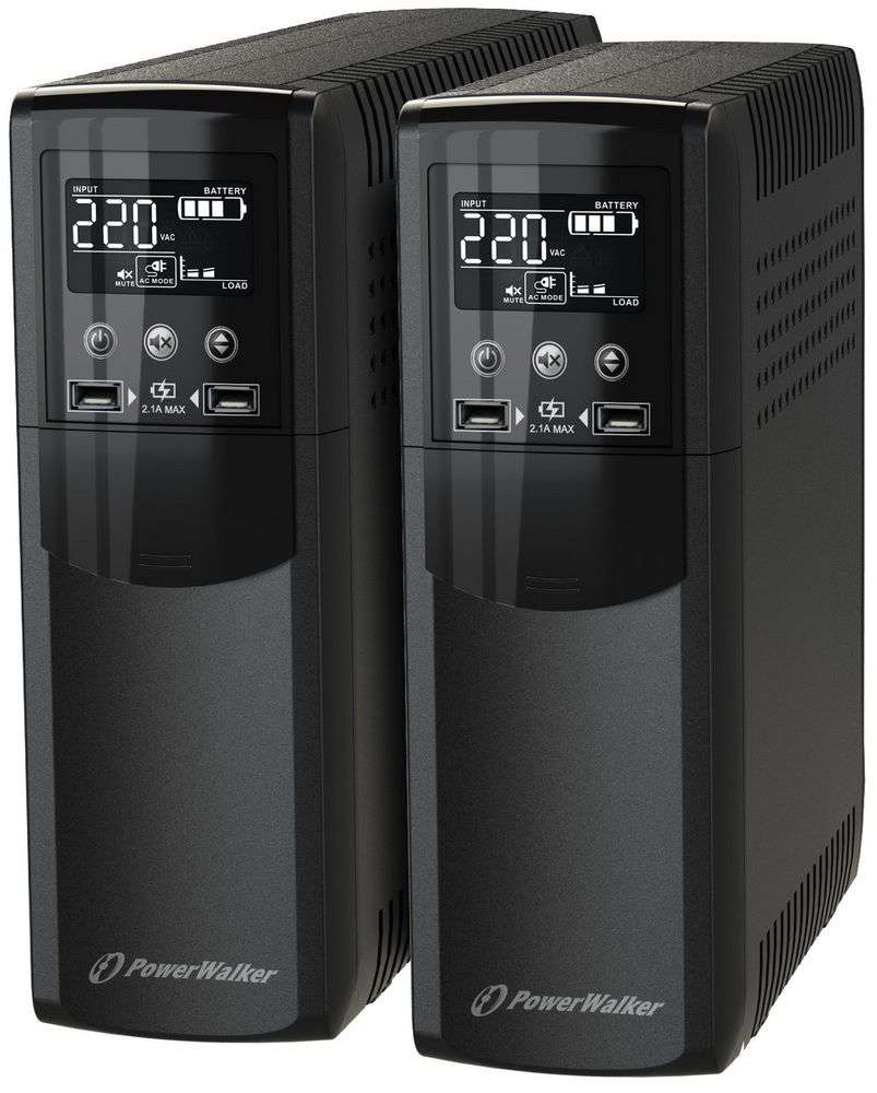 Zasilacz UPS awaryjny 1500VA/900W VI 1500 CSW IEC PowerWalker