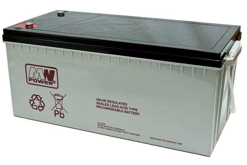 Akumulator AGM 12V/200Ah MWL 200-12 MW Power