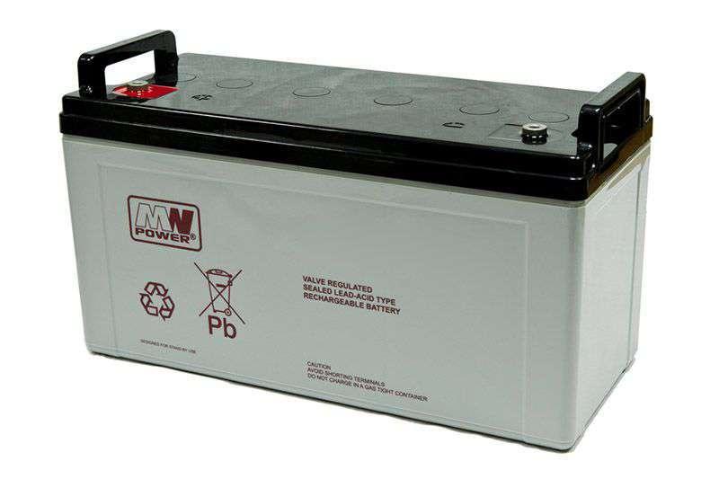 Akumulator AGM 12V/120Ah MWL 120-12 MW Power