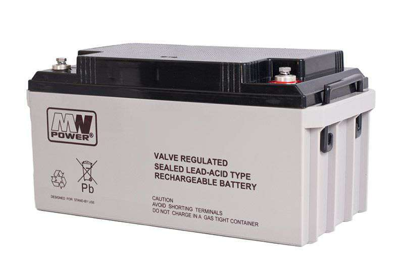 Akumulator AGM 12V/65Ah MWL 65-12 MW Power