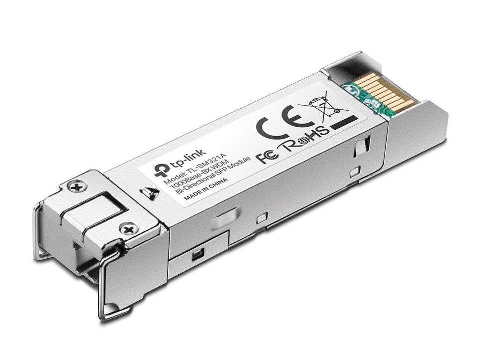 Dwukierunkowy moduł światłowodowy SFP, WDM TL-SM321A TP-Link