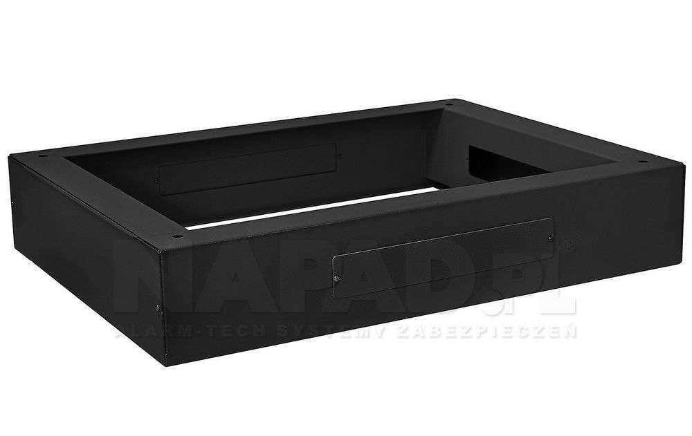 Cokół szafy stojącej 600x800 RACK SYSTEMS czarny RAL9005