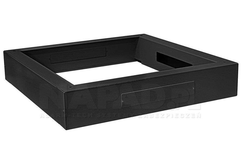 Cokół szafy stojącej 800x800 RACK SYSTEMS czarny RAL9005