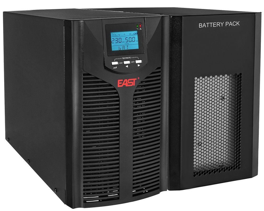 2w1 Zestaw zasilania awaryjnego UPS 3kVA UPS3000-LCD + BP8X9/T EAST