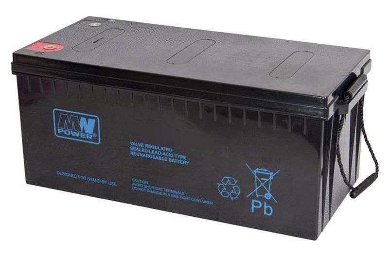 Akumulator AGM 12V/200Ah MWP 200-12 MW Power