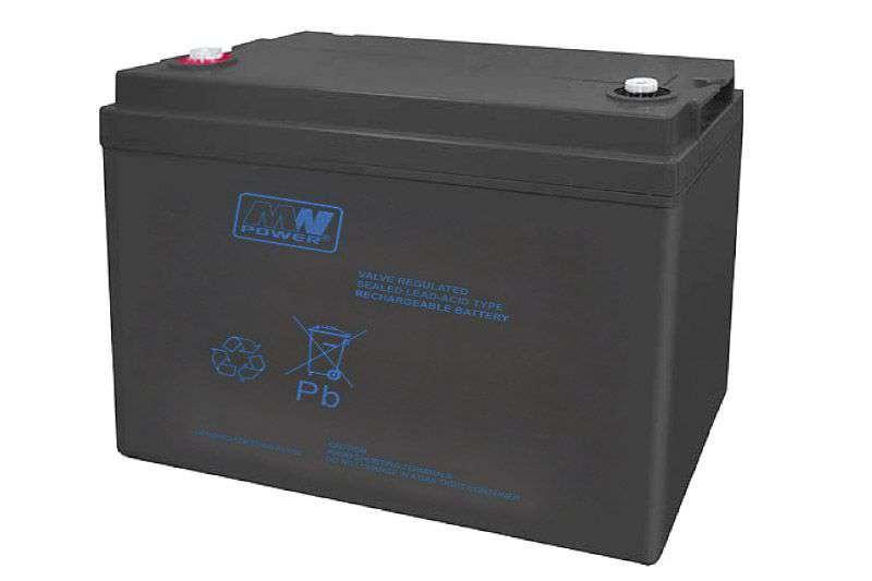 Akumulator AGM 12V/100Ah MWP 100-12 MW Power