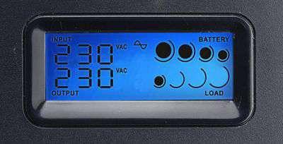 PowerWalker VI 3000 SCL wyświetlacz LCD