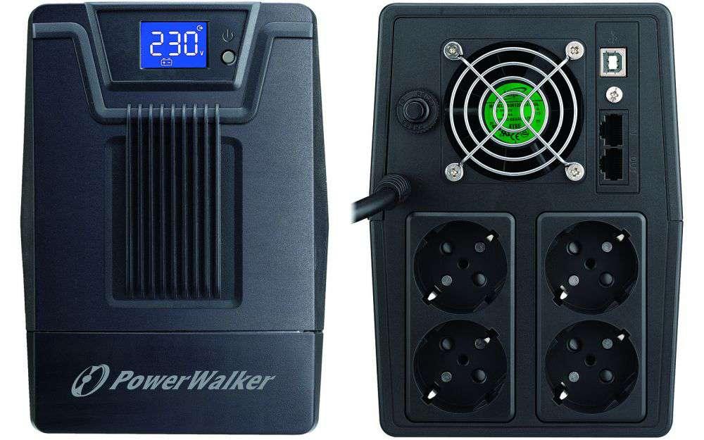 Zasilacz UPS awaryjny 1500VA/900W VI 1500 SCL PowerWalker