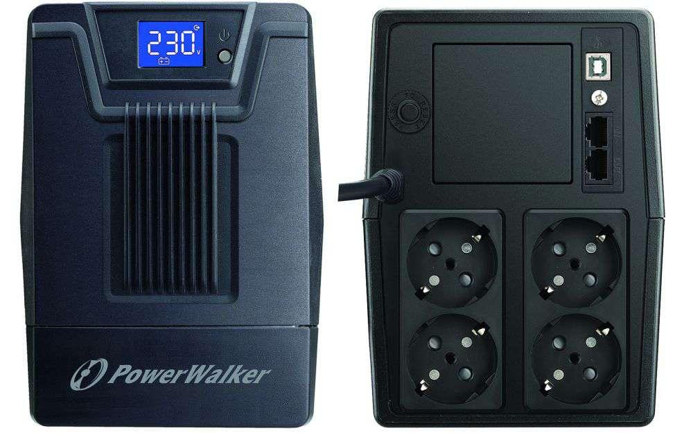 Zasilacz UPS awaryjny 1000VA/600W VI 1000 SCL PowerWalker