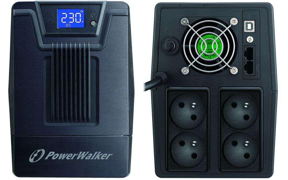 Zasilacz UPS awaryjny 1500VA/900W VI 1500 SCL FR PowerWalker