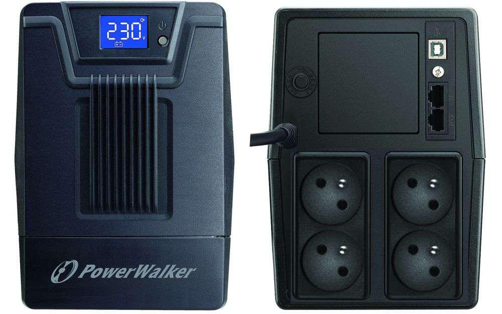 Zasilacz UPS awaryjny 1000VA/600W VI 1000 SCL FR PowerWalker
