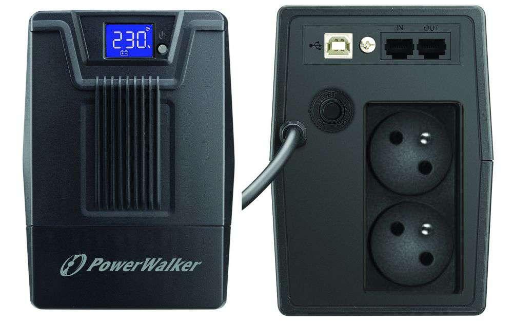 Zasilacz UPS awaryjny 800VA/480W VI 800 SCL FR PowerWalker