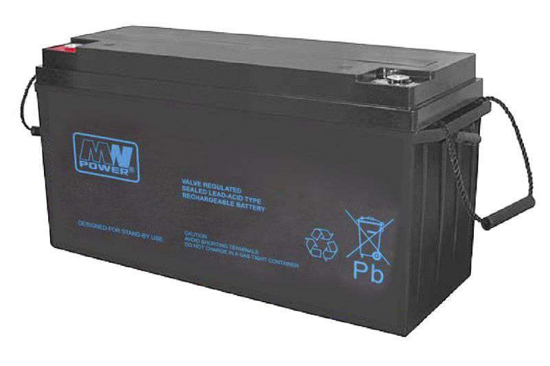 Akumulator AGM 12V/150Ah MWP 150-12B MW Power