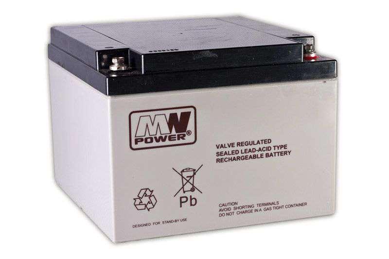 Akumulator AGM 12V/28Ah MWL 28-12B MW Power