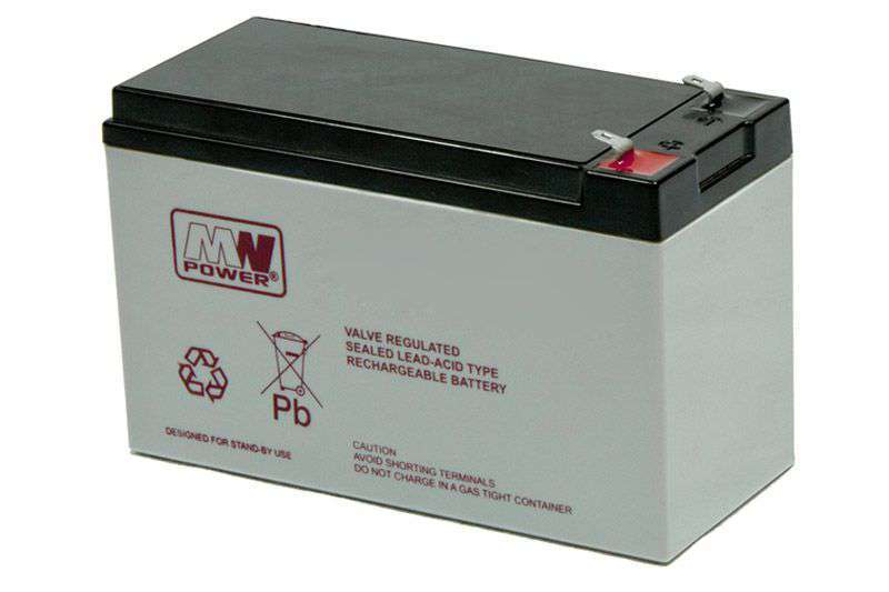 Akumulator AGM 12V/7.2Ah MWL 7.2-12L MW Power