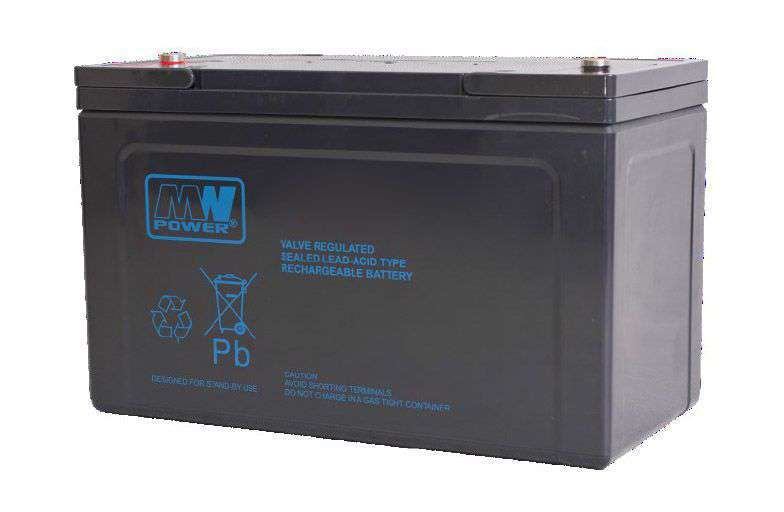 Akumulator AGM 12V/120Ah MWP 120-12H MW Power