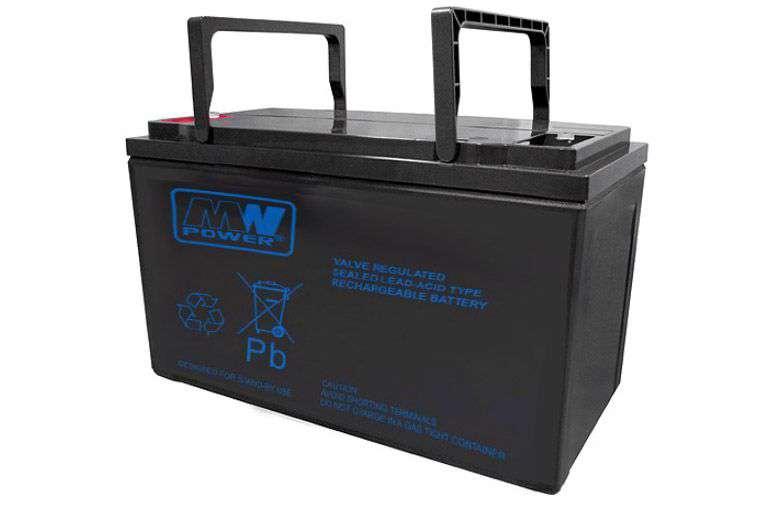 Akumulator AGM 12V/100Ah MWP 100-12H MW Power