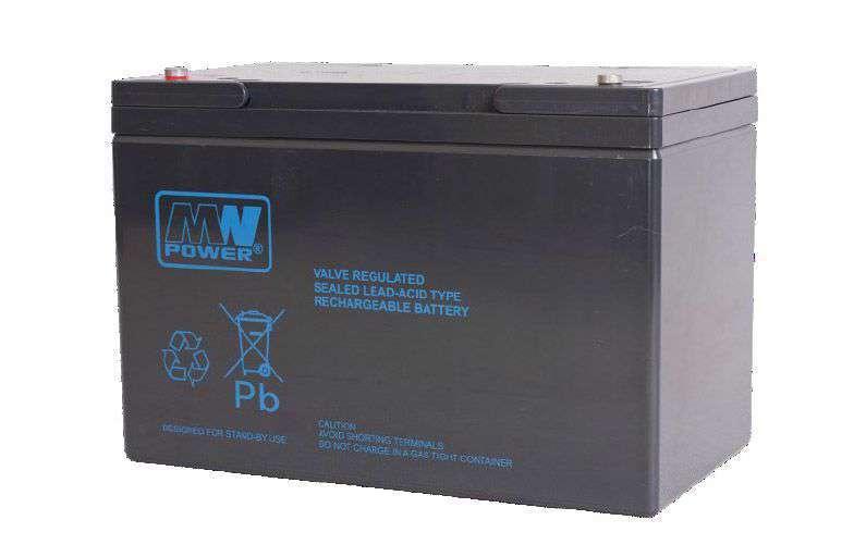 Akumulator AGM 12V/100Ah MWP 100-12B MW Power