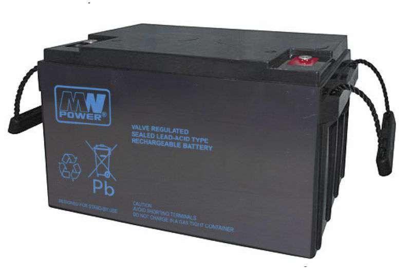 Akumulator AGM 12V/65Ah MWP 65-12B MW Power