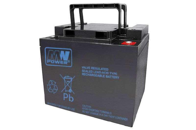 Akumulator AGM 12V/50Ah MWP 50-12 MW Power