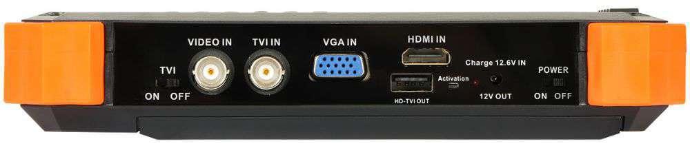 złącza monitora serwisowy STX-1 Delta