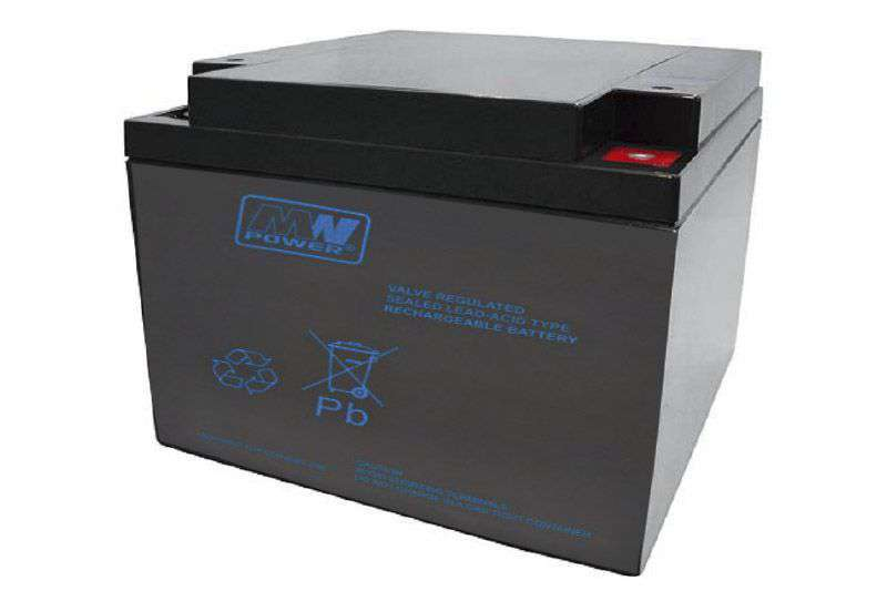 Akumulator AGM 12V/28Ah MWP 26-12B MW Power