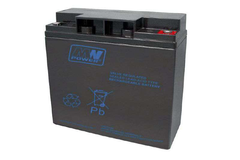 Akumulator AGM 12V/18Ah MWP 18-12 MW Power