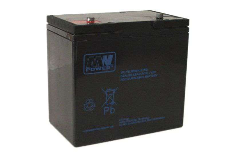Akumulator AGM 12V/55Ah MW 55-12 MW Power