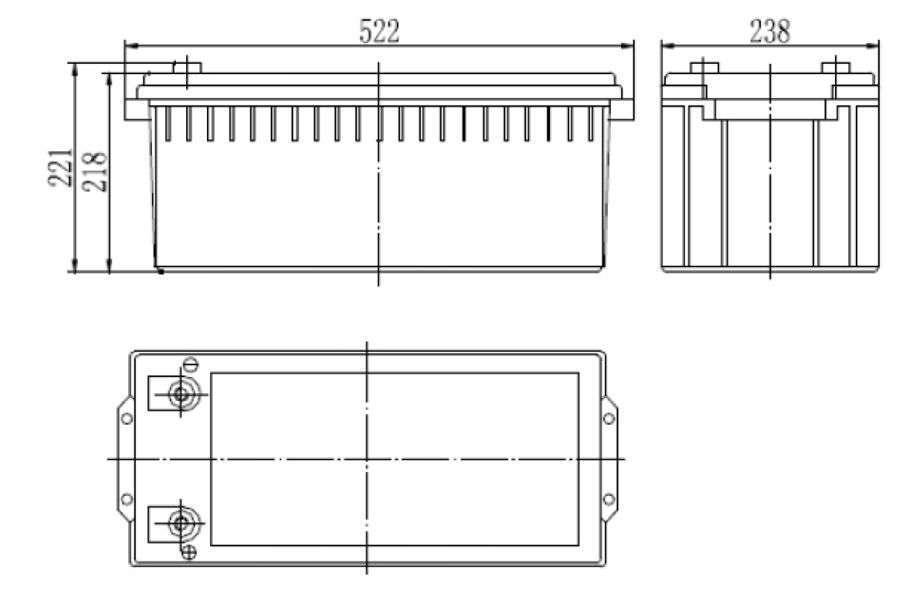 MWLG 200-12EV wymiary akumulatora baterii