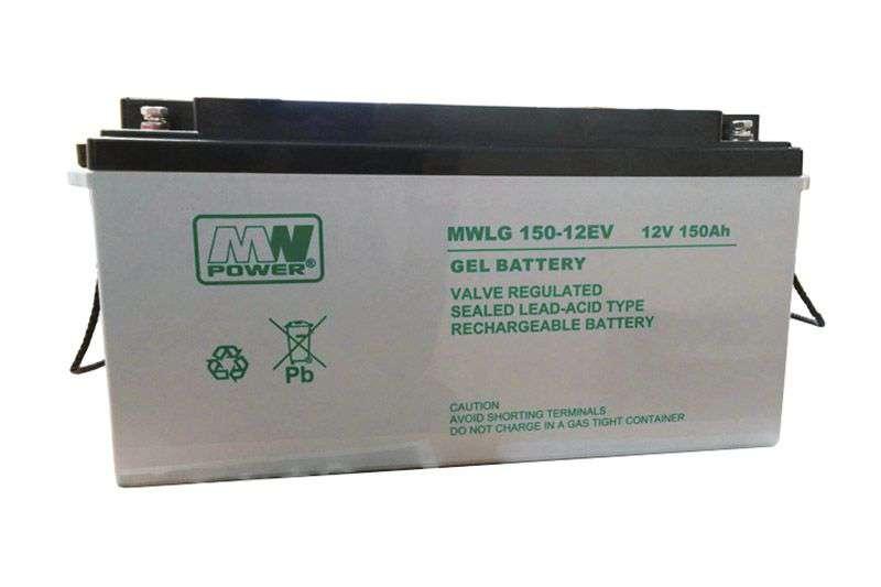 Akumulator żelowy 12V/150Ah MWLG 150-12EV MW Power