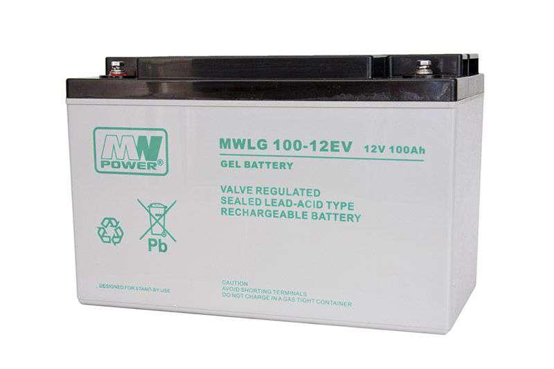 Akumulator żelowy 12V/100Ah MWLG 100-12EV MW Power