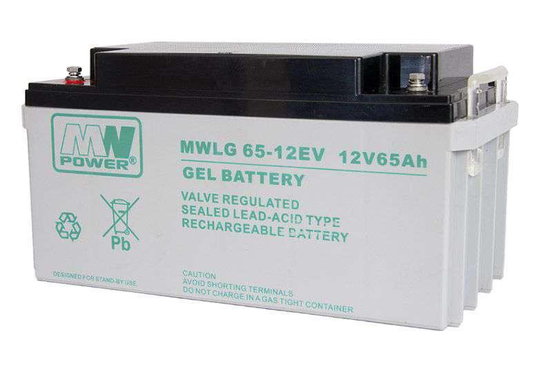 Akumulator żelowy 12V/65Ah MWLG 65-12EV MW Power