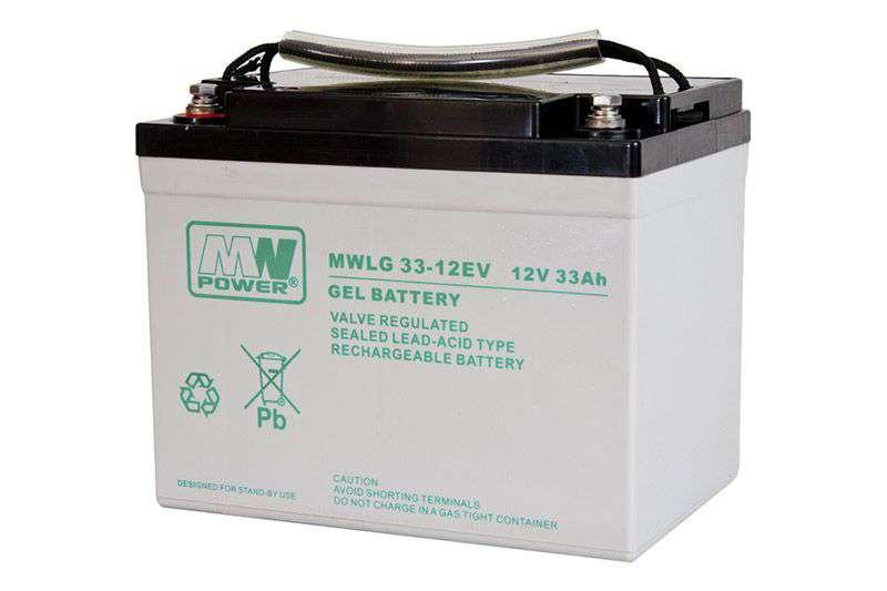 Akumulator żelowy 12V/33Ah MWLG 33-12EV MW Power