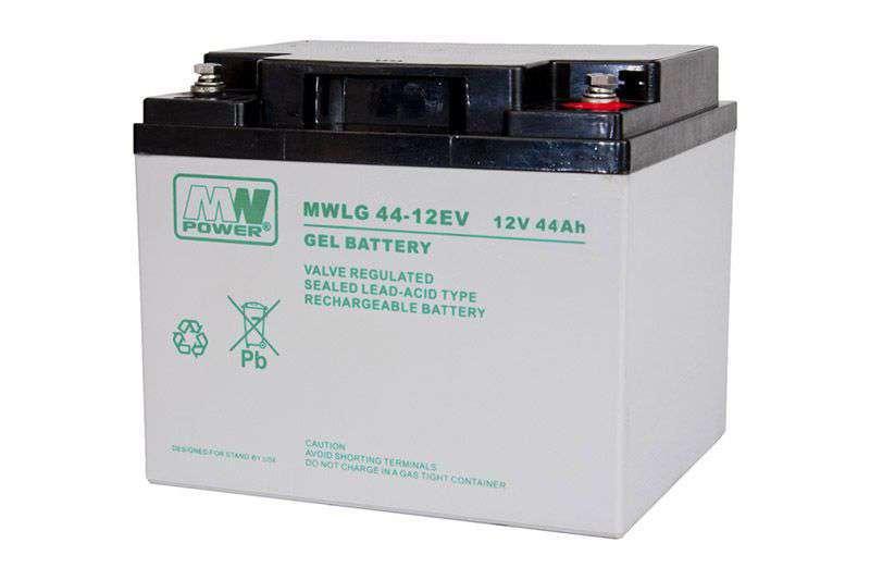Akumulator żelowy 12V/44Ah MWLG 44-12EV MW Power