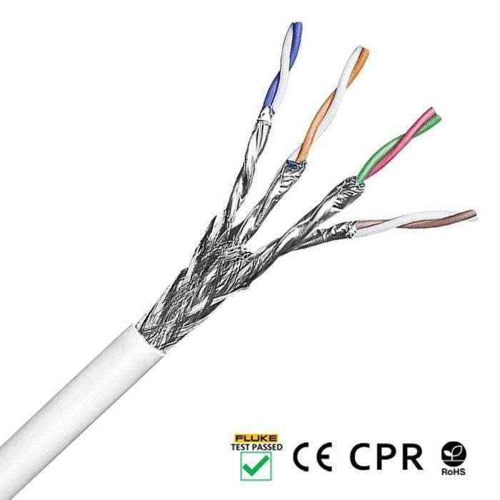 budowa przewodu kabla sieciowego skrętki lanberg sftp kat 7