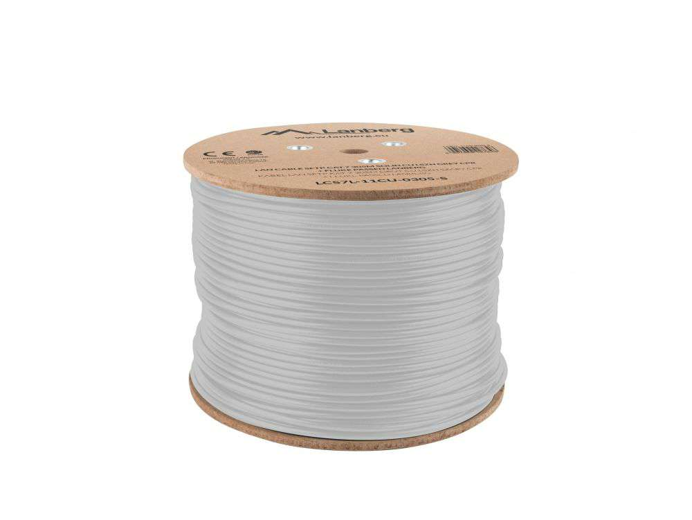 Wewnętrzny kabel LAN skrętka SFTP CAT.7 LCS7L-11CU-0305-S Lanberg