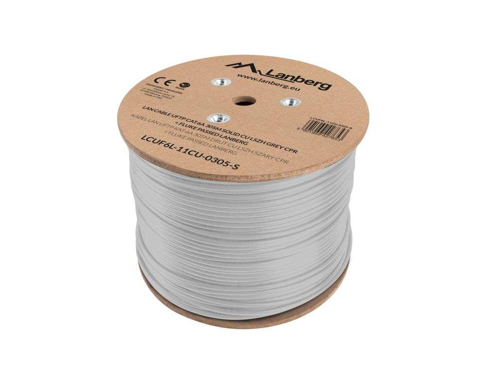 budowa przewodu kabla sieciowego skrętki lanberg u/ftp cat 6a