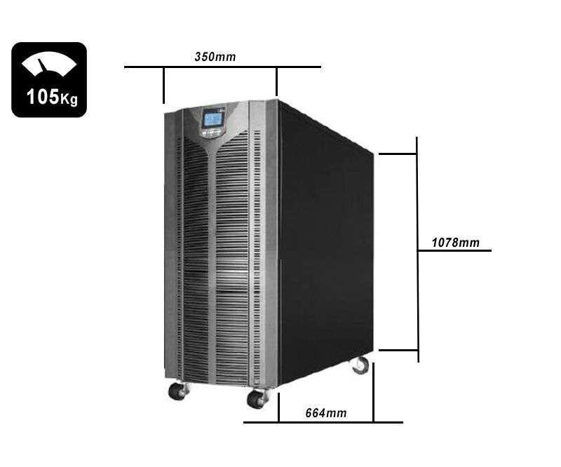 TS33-ON-10k0-MC-10 wymiary i waga