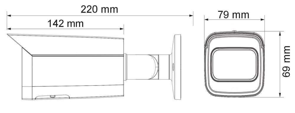 wymiary kamer ipox PX-TI2028IR3