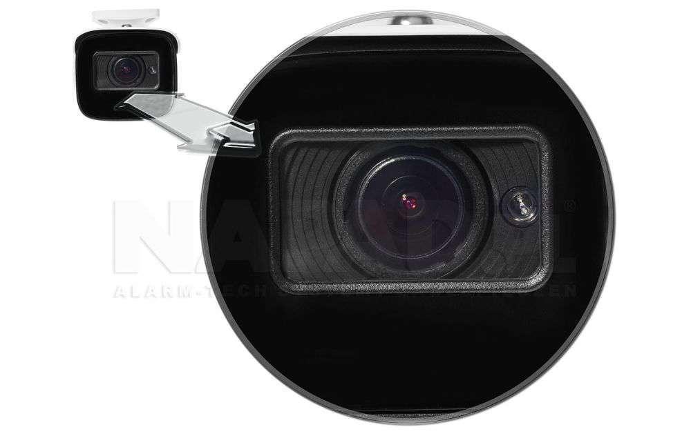 oświetlacz: diody IR LED Black Glass (zasięg do 50m)