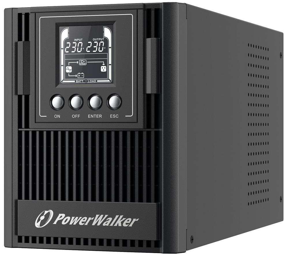 ☆ wolnostojący ☆ tower ☆ online ☆ LCD ☆ HID ☆ 2x 12V / 9Ah ☆ 3x FR (PL) ☆ EPO ☆ RS-232 ☆ USB ☆ RJ-11 / RJ-45 PowerMaster