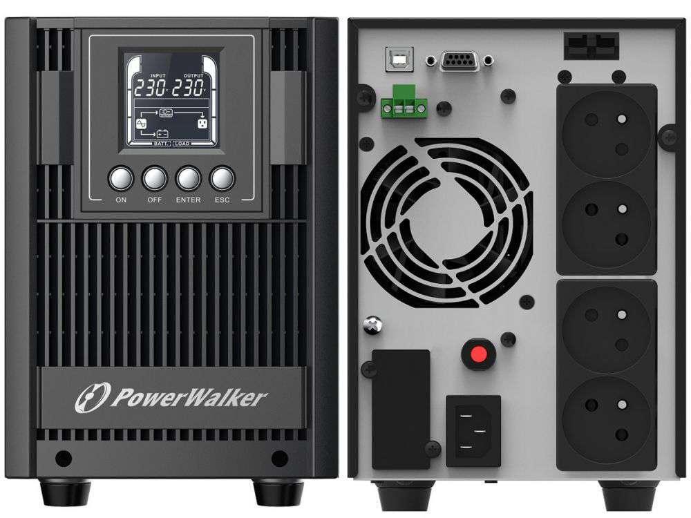 Zasilacz UPS awaryjny 2kVA/1800W VFI 2000 AT FR PowerWalker