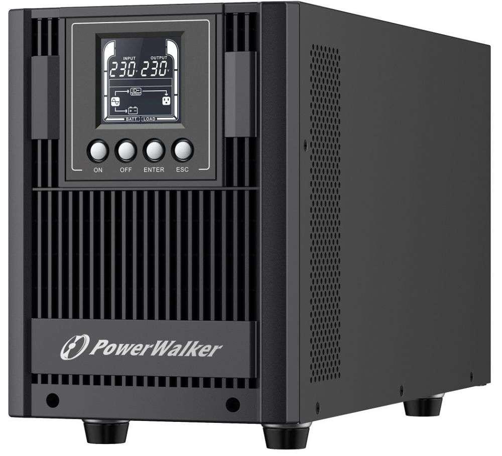 ☆ wolnostojący ☆ tower ☆ online ☆ LCD ☆ HID ☆ 4x 12V / 9Ah ☆ 4x FR (PL) ☆ EPO ☆ RS-232 ☆ USB ☆ RJ-11 / RJ-45 ☆ PowerMaster